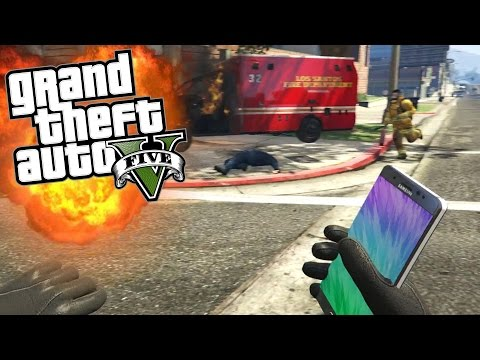 SAMSUNG GALAXY NOTE 7 EXPLODING! (GTA 5 Mods)