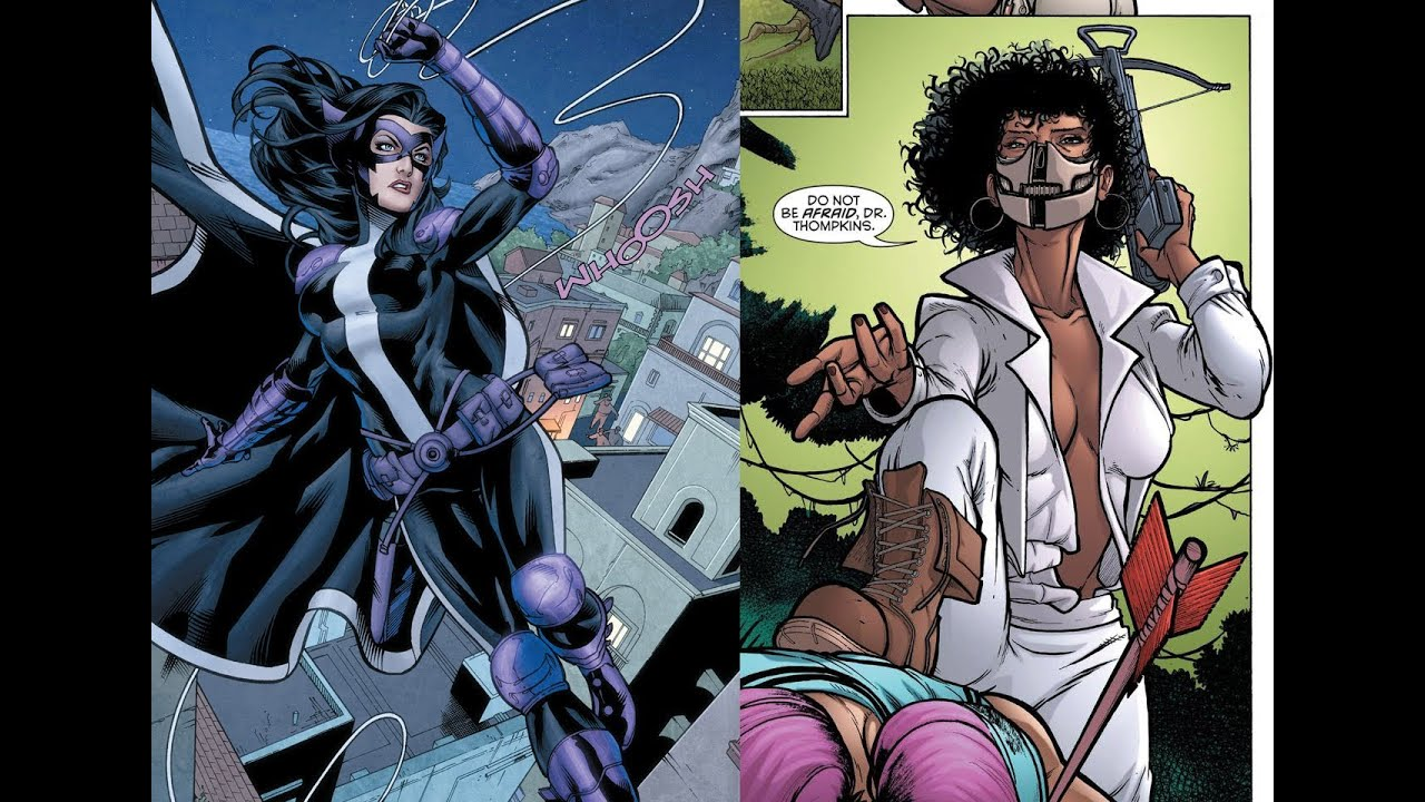 What's Wrong With The Huntress And Power Girl In The 'New 52 ...