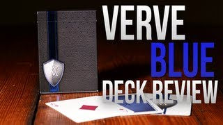 Deck Review -  Blue Verve Deck by The Blue Crown Playing Cards