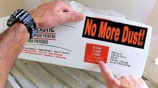 No More Dust from Drywall Repairs!! Diy Drywall Repair Tips and Tricks
