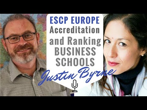 ESCP Europe Business School: Ranking and Accreditation & Entrepreneurship