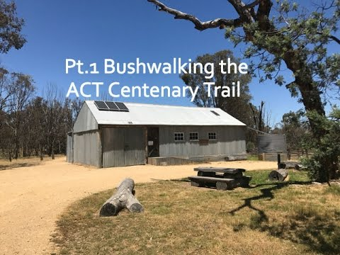 Hiking part of the ACT Centenary Trail - Bushwalking Mulligan's Flat