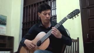 Mẹ yêu con (guitar solo) _ demo tremolo 1 dây