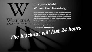 Today No Wiki Tomorrow No Internet