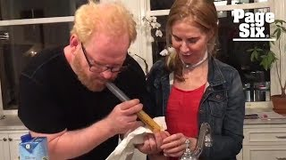 Jim Gaffigan helps feed his wife through a tube, with a side of humor | Page Six