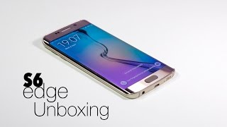 Samsung Galaxy S6 Edge - Unboxing & Initial Setup / Configuration