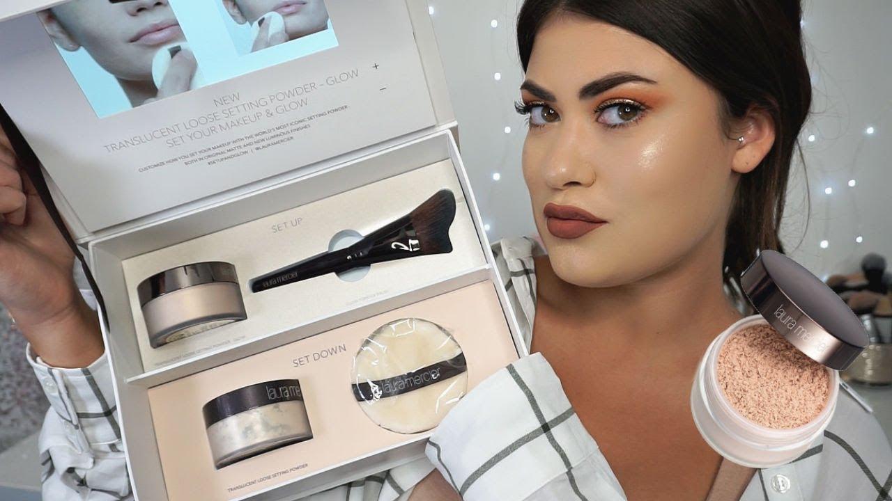 bd1dce41a933 NEW  Laura Mercier Translucent Powder GLOW   Makeup Tutorial ...