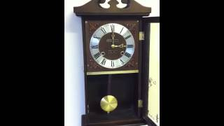 31 Day President Wind Up Wall Clock Chime