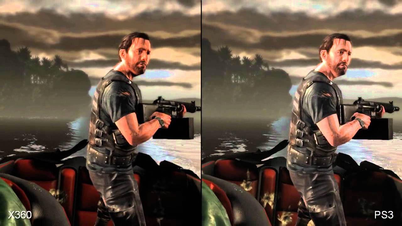 Max Payne 3 Xbox 360 Vs Playstation 3 Comparison Youtube