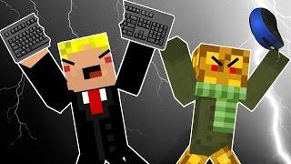 Bedwars - REWI ZERSCHLÄGT TASTATUR!!!   Minecraft Online