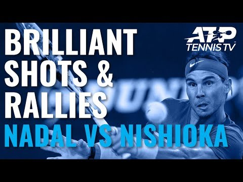 Brilliant Points in Nadal vs Nishioka Contest | ATP Cup 2020