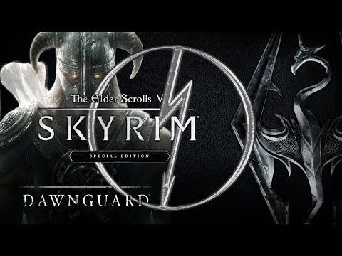 Skyrim SE Dawnguard - The Tale Of Atlan The Dragonborn - Darkfall Cave (No Commentary) thumbnail