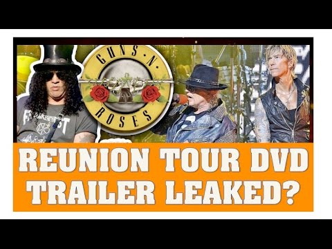 Guns N' Roses Not In This Lifetime Reunion Tour DVD/Film Trailer Leaked?