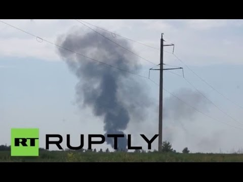 Ukraine: Helicopter crash in Slavyansk allegedly kills 14