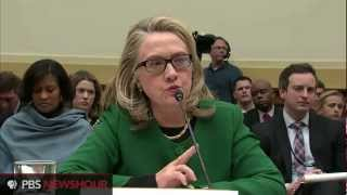 Watch Clinton Testify Before House on Benghazi Attack