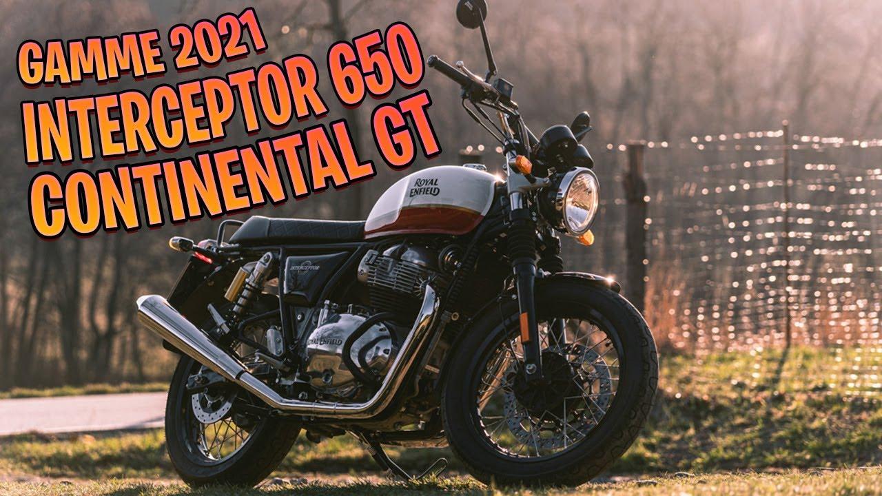 Download ✅Royal Enfield Interceptor 650 & Continental GT 2021✅ (nouveaux coloris & euro 5) SUPERBE #MOTOACTU