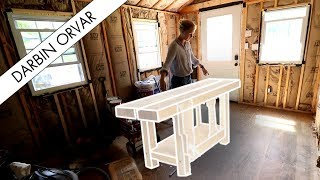 Building a Workbench - Part 1 Design & Milling