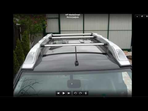 Nissan X-trail Sherpack багажник на крышу автомобиля