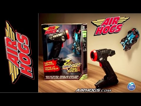 How To Play With Your Air Hogs Zero Gravity Laser Racer