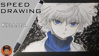 Speed Drawing - Killua Zoldyck