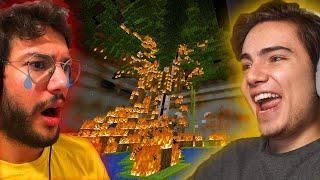 VALES 'in YERALTI ŞEHRİNİ YAKTIM!! (15 saniye sürdü) - Minecraft Survival - Bölü