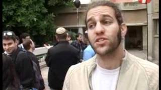 עימות בהפגנה: סטודנטים מת