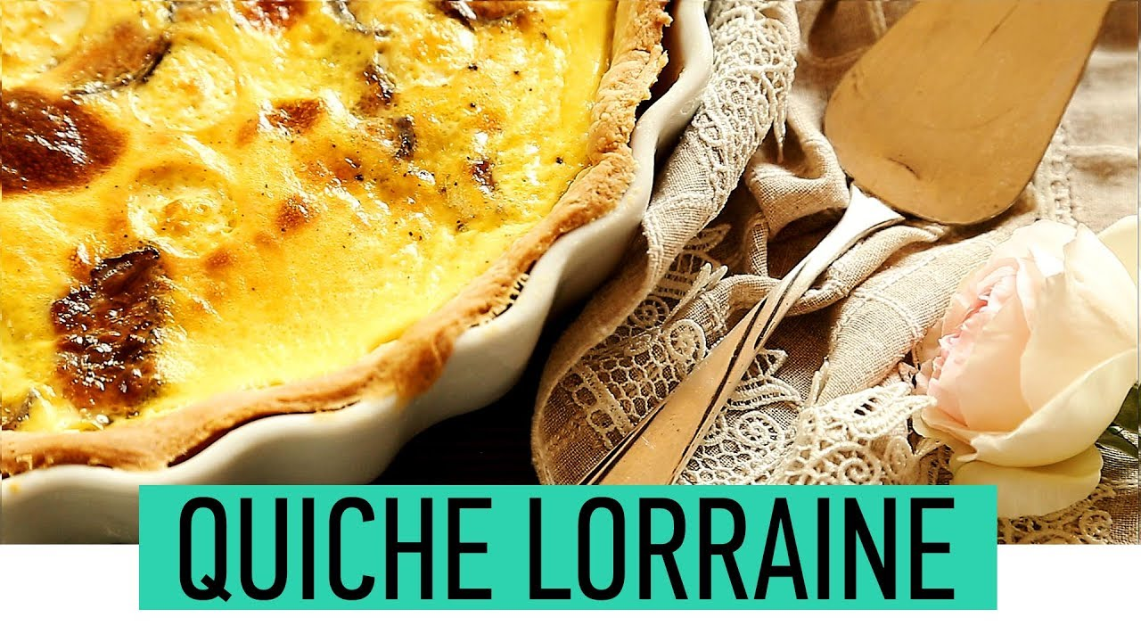 Delicious quiche lorraine recipe how to make classic quiche delicious quiche lorraine recipe how to make classic quiche lorraine easy homemade french pie forumfinder Image collections