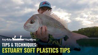 Estuary Soft Plastics Tİps - How to Fish Soft Plastics in Creeks