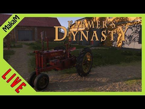 Farmer's Dynasty Gameplay LIVE [HUN] #10 - Bálázunk, és ismerkedünk!
