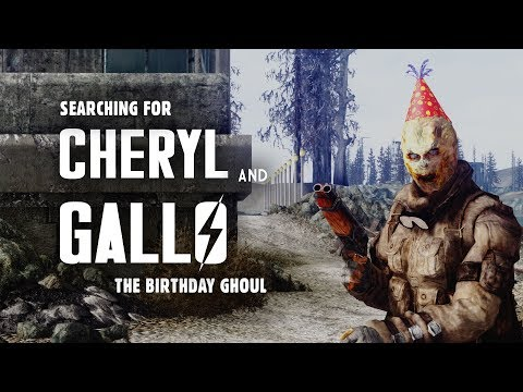 Searching for Cheryl & Gallo the Birthday Ghoul - Fallout 3 Lore