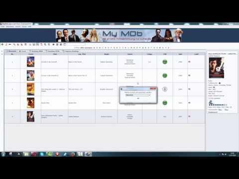 Filme organisieren & archivieren mit MyMDb
