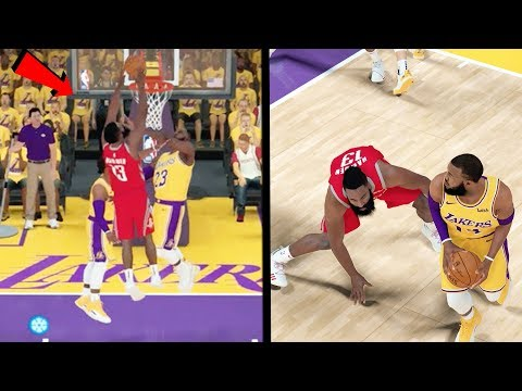 JAMES HARDEN DUNKED ON ME AND LEBRON THEN GETS ANKLES SNAPPED! NBA 2k19 MyCAREER Ep.56