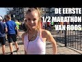 ROOS' EERSTE HALVE MARATHON | MARATHON AMSTERDAM - VLOG288