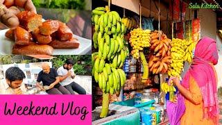 Weekend Vlog | ഒരു കപ്പ് ഗോതമ്പു ഉണ്ടെങ്കിൽ പാൽകേക്കും Cerelac ഉം ready | Milk Cake | Salu Kitchen