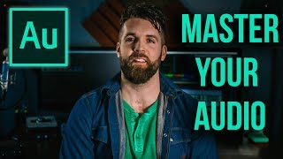 How to Master Your Audio in Adobe Audition  //  Audio Production Tutorial