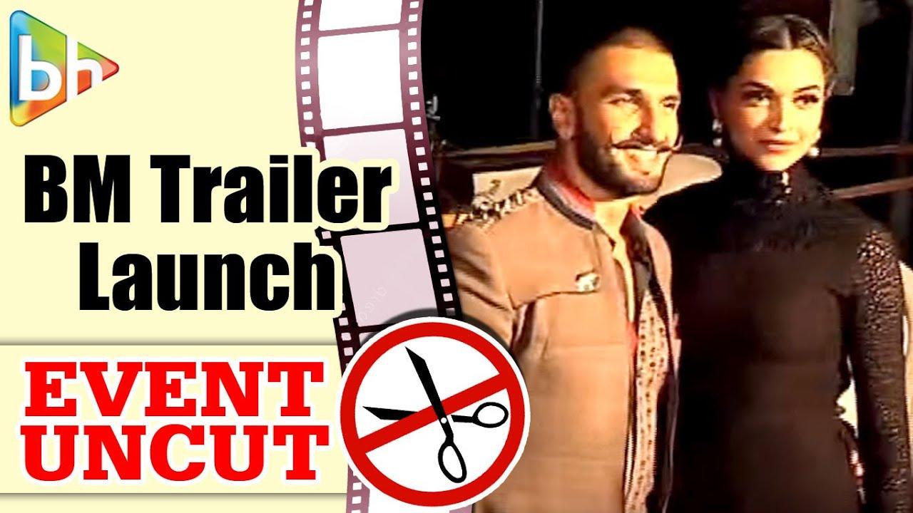 Bajirao Mastani Trailer Launch | Ranveer Singh | Deepika Padukone | Priyanka Chopra | Event Uncut