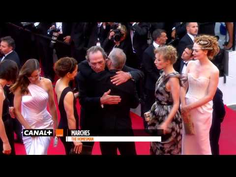 Cannes 2014  THE HOMESMAN : Best of Red Carpet