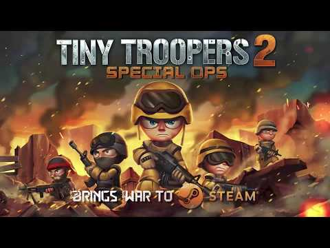 The brave Tiny Troopers infiltrate now on Steam!