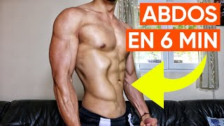 ENTRAINEMENT ABDOS EN 6 MIN