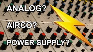 How much POWER does an ANALOG MUSIC STUDIO consume?