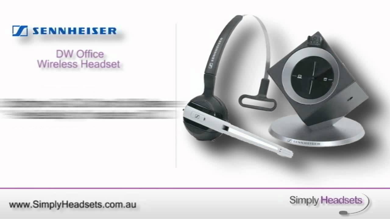 d957d527c01 Buy Sennheiser DW Office ML Wireless Headset With Lifter (DW10ML) $448