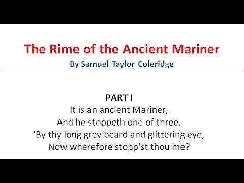 The Rime of the Ancient Mariner By Samuel Taylor Coleridge | Part-1 | বাংলা লেকচার | Bangla Lecture