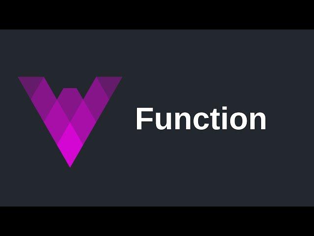 Function | Vyper (0.2)