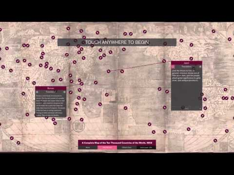 Preview of Ricci map interactive at Asian...