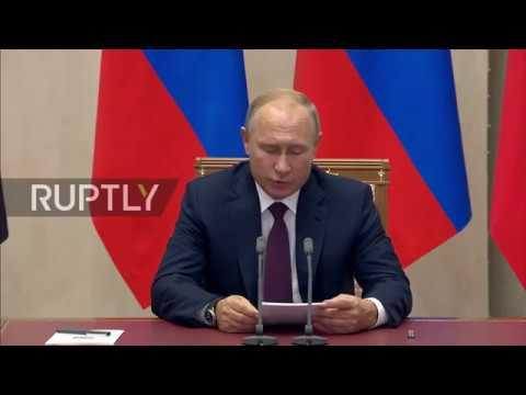 Russia: Putin expresses condolences over Kerch attack