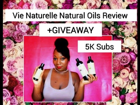 Vie Naturelle Oils Review + GIVEAWAY!!! (CLOSED)