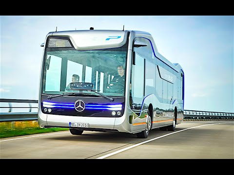 Mercedes Self Driving Bus Official Commercial Mercedes Futur