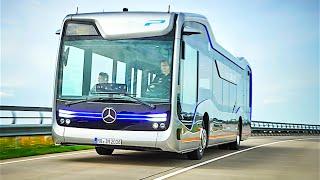Mercedes Self Driving Bus Official Commercial Mercedes Future Bus 2016 Autonomous Bus CARJAM TV thumbnail