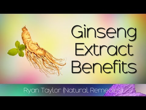 Ginseng Extract: Benefits for Health