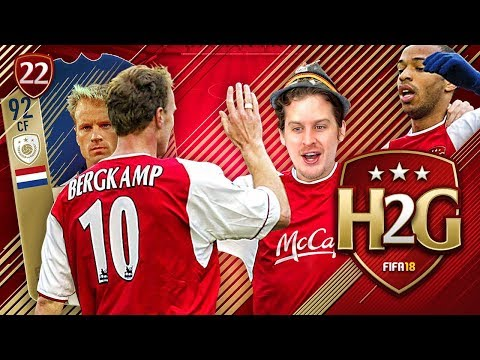 OMG 92 PRIME ICON BERGKAMP! FUT CHAMPS REWARDS HENRY TO GLORY #22! FIFA 18 ULTIMATE TEAM
